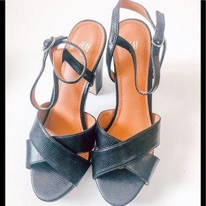 Hm heels never worn